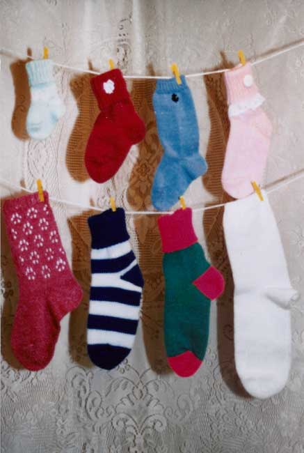 Sandees Kwik Knit Machine Knitted Sock Patterns Books And