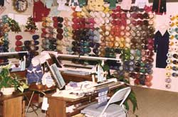 Business Photo's for organizing your yarn, books & knitting machines