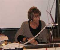 Sandee's Kwik Knit Sandee Cherry Machine Knitting Seminars and Workshop Instructor